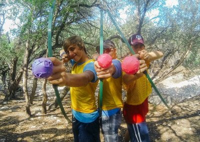 Arrow Tag at Camp Eagle