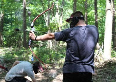 Arrow tag at Mt. Lou San 1